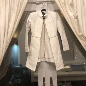 BCBG Maxazria White Blazer